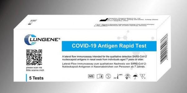 Antigen Schnelltest - 5er Pack - CLUNGENE Laien-Test COVID-19 (SARS-Cov-19)