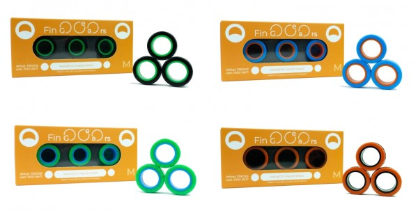 FinGears - DAS Original - magnetische Ringe- Größe M