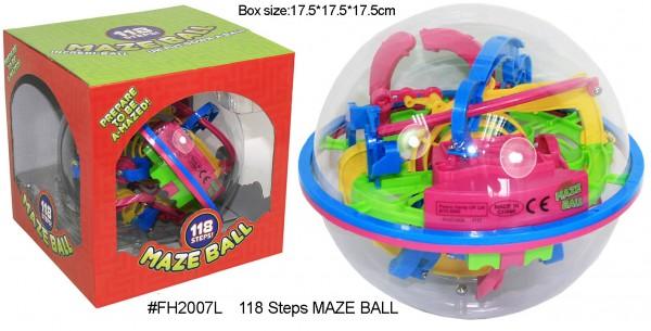 3D Labyrinth Ball 118