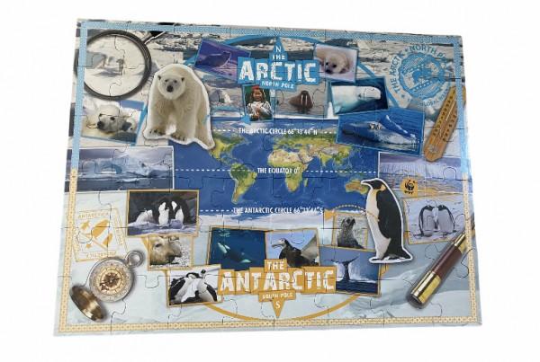 WWF - Puzzle - Bodenpuzzle - 48 Teile - Arctic - Polarmeere
