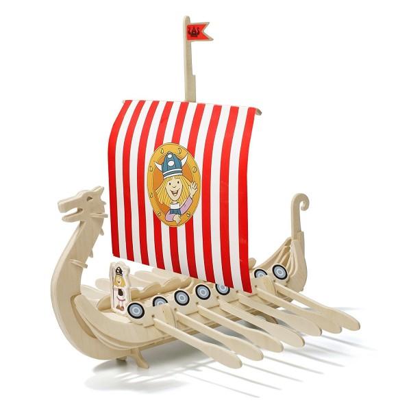 Wickie Holzboot Bausatz